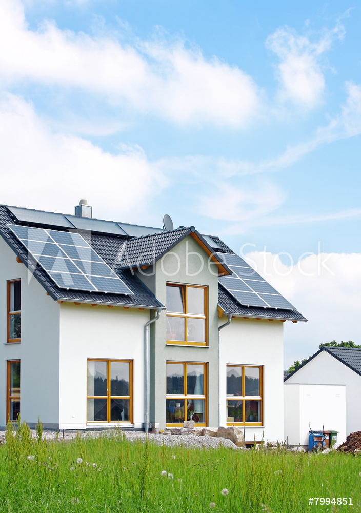 house w solar panels Adobestock 7994851 Preview